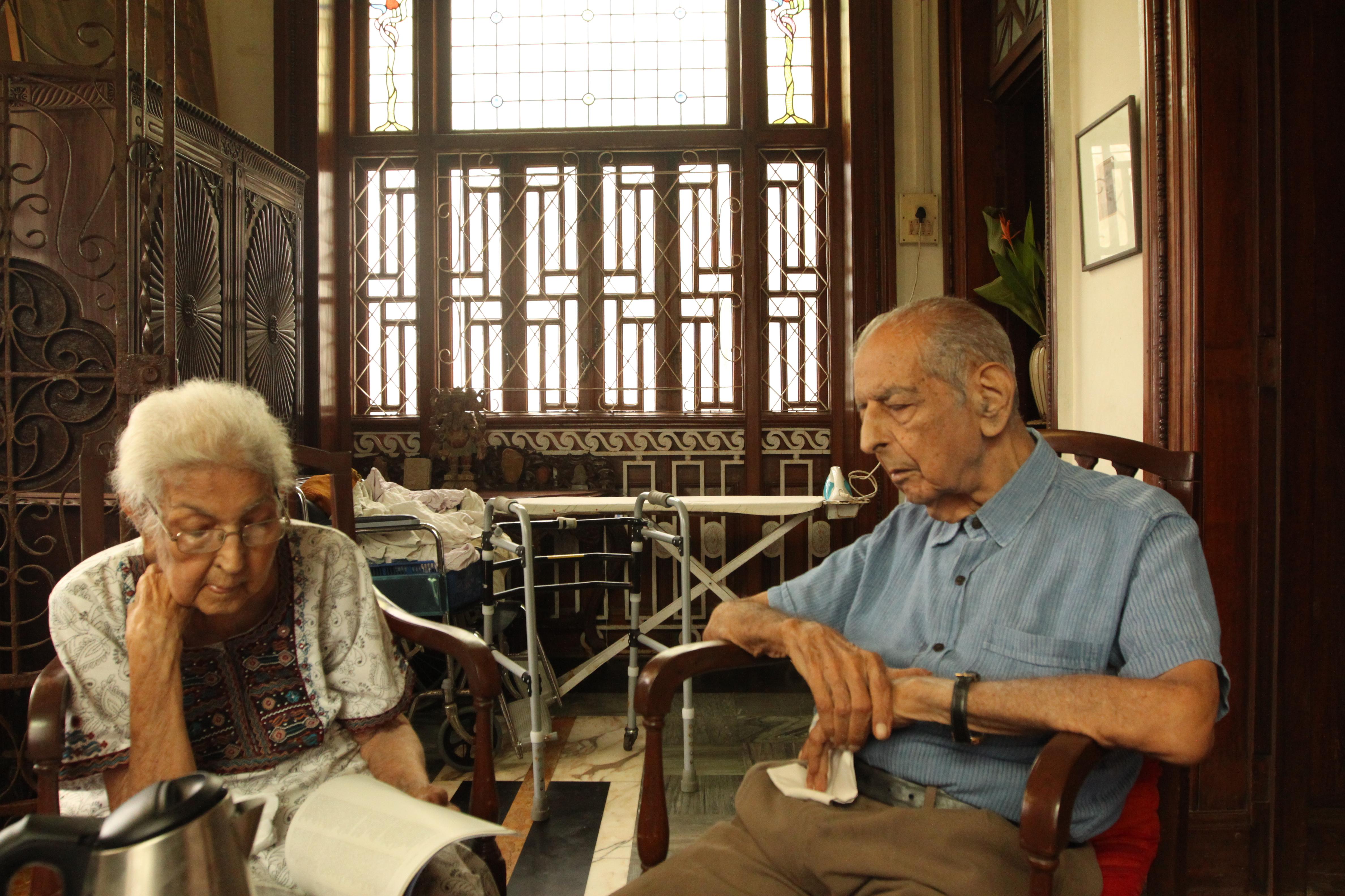 Kekkoo and Khorshed Gandhy