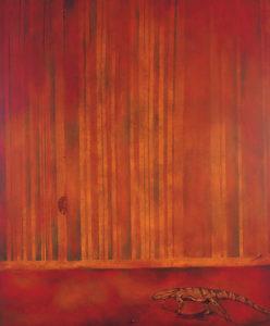 Crimson canes